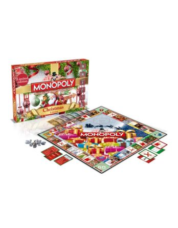 Character Monopoly Christmas Board Game
