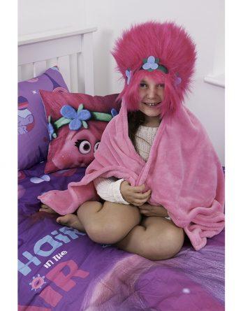 Cuddle Robe Trolls 'Glow'