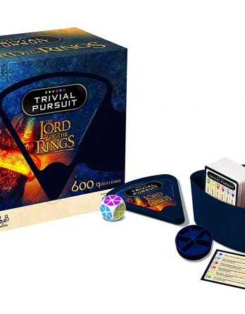 Lord the Rings Trivial Pursuit Game