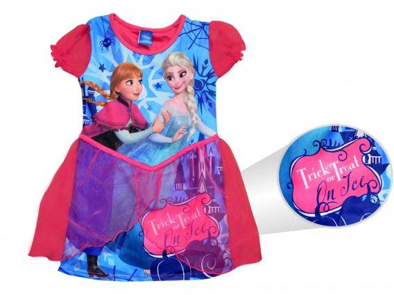 Disney Frozen Anna Elsa 'Halloween Dress' Trick Or Treat Small 5 6 Years Costume
