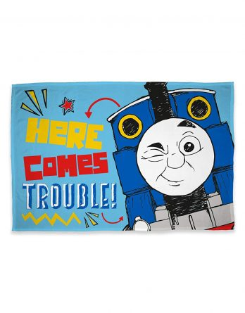 Thomas The Tank Engine Panel Fleece Blanket Throw