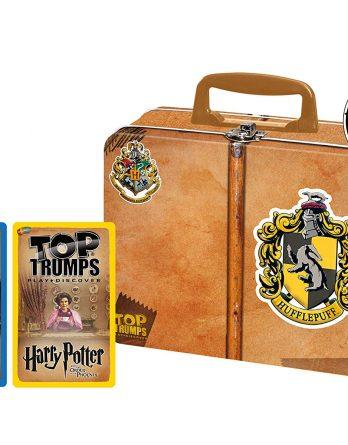 Top Trumps Harry Potter Hufflepuff Collector'S Tin Card Game